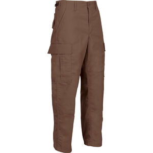 Tru-Spec Gen-1 Police BDU Pants Size Small Length Regular Polyester/Cotton Ripstop Brown 1977003