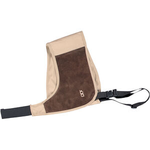 Bob Allen Shotgun Absorb-A-Coil Harness Right Handed Recoil Absorbing Shoulder Pad Harness Cotton with Suede and Neoprene Pad Khaki