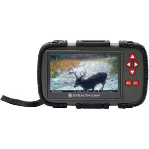 "GSM Outdoors Stealth Cam CRV43X SD Card Viewer with 4.3"" Touch Screen"