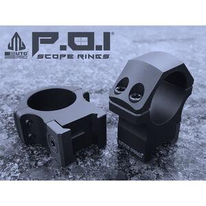 """UTG PRO® 1""""/2PCs Medium Profile P.O.I® Picatinny Rings"""