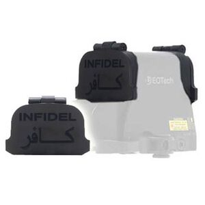 GG&G EOTech XPS Flip Lens Cover Black with Infidel Engraving GGG-1272INF