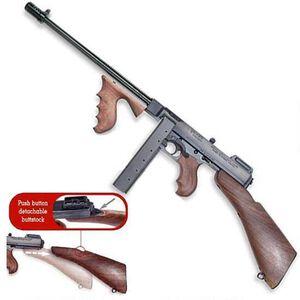 "Auto-Ordnance Thompson 1927A-1 Deluxe Rifle .45 ACP 16"" Barrel 20 Rounds Detachable Walnut Stock Blued Finish"