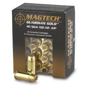 Magtech Guardian Gold .40 S&W Ammunition 1000 Rounds JHP 180 Grains GG40B