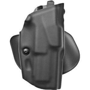 """Safariland 6378 ALS Paddle Holster Right Hand SIG Sauer P239 9mm with 3.6"""" Barrel STX Plain Finish Black 6378-75-411"""