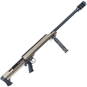 "Barrett Model 99 .50 BMG Bolt Action Rifle Single Shot 29"" Barrel FDE"