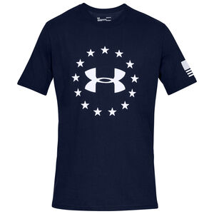 Under Armour Freedom Logo Men's T-Shirt Cotton Blend