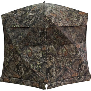 "Rhino Blinds Rhino-200 Hub Style Portable Ground Blind 75""x75"" Hub-to-Hub 66"" Tall MOBUC Camo"