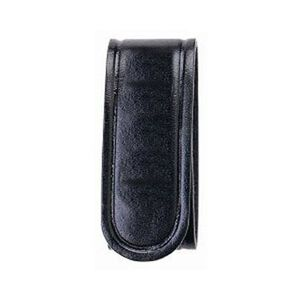 Bianchi AccuMold Elite 7906 Belt Keeper Hidden Snap Plain Black 4 Pack 22090