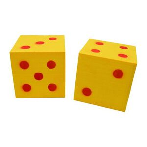 """Benchmaster Shoot the Dice Foam 4""""x4"""" Targets"""