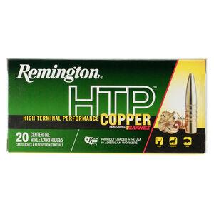Remington HTP Copper 7mm RUM Ammunition 20 Rounds Lead Free TSX-BT 150 Grains HTP7UM
