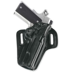 """Galco Concealable Belt Holster 1911 5"""" Right Hand Leather Black CON212B"""