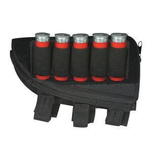 Fox Outdoor Shotgun Butt Stock Cheek Rest Left Hand Black 55-571