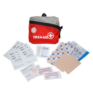 Ultimate Survival Technologies FeatherLite First Aid Kit 1.0 Treats Minor Injuries Nylon Case Red 80-30-1450