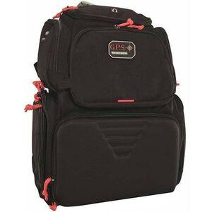 G Outdoors Rolling Handgunner Backpack Black