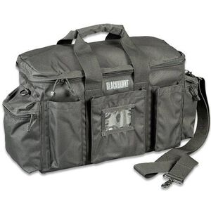 "BLACKHAWK! Police Equipment Bag, Nylon, 18.5"" x 12"" x 7.5"", Black"