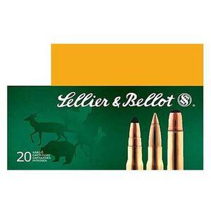 Sellier & Bellot 7.62x54R Ammunition 20 Rounds 180 Grain Full Metal Jacket 2,579fps