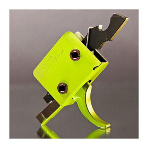 CMC AR-15 Drop-In Single Stage Trigger Curved Bow 3.5-4 lbs Pull Zombie Green 91501Z