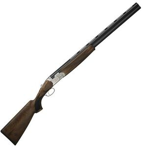 "Beretta 686 Silver Pigeon I Over/Under Shotgun 20 Gauge 26"" Barrel 3"" Chamber Walnut Stock Blued Finish Silver Receiver with Scroll Engravings J6863K6"