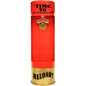 "Rockin' W Winchester 3D  ""Time to Reload"" Metal Shotshell Bottle Opener 25""x7"""