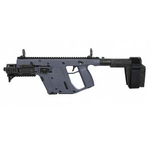"Kriss USA Kriss Vector Gen II SDP-SB Enhanced 9mm Luger Semi Auto Pistol 6.5"" Barrel 17 Rounds Pistol Stabilizing Brace Combat Grey Finish"