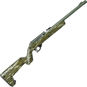 "Tactical Solutions X-Ring Takedown VR .22 LR Semi Auto Rifle 16.5"" Threaded Barrel 10 Rounds Mossy Oak Bottomland Stock OD Green Finish"
