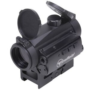Firefield Impulse 1x22 Compact Red Dot Sight Circle Dot Reticle Unlimited Eye Relief CR2032 Battery With Red Laser Integral Weaver-Style Mount Matte Black Finish