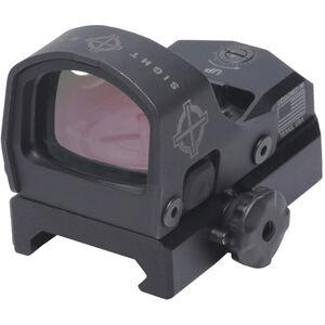 Sightmark Mini Shot M-Spec LQD Reflex Sight 1x15mm Red Dot Illuminated 3 MOA Dot Reticle Low Profile QD and Riser QD Picatinny Mounts Aluminum Black