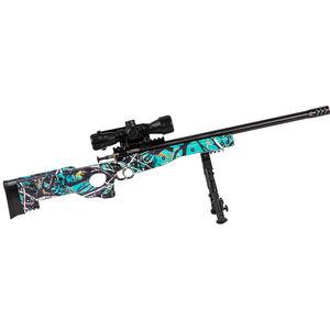 "Keystone Arms Crickett Precision Rifle Package .22 Long Rifle Single Shot Bolt Action Rimfire Rifle 16.125"" Barrel Bipod/Scope/Adjustable Synthetic Thumbhole Stock Muddy Girl Serenity"