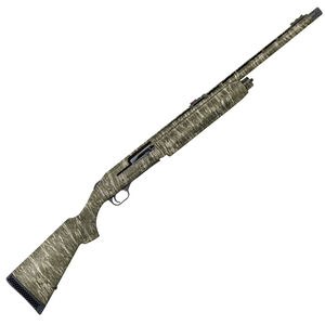 "Mossberg 935 Magnum Turkey 12 Gauge Semi Auto Shotgun 22"" Barrel 3.5"" Chamber Adjustable Fiber Optic Sight Synthetic Stock Mossy Oak Bottomland Camo Finish"