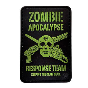 5ive Star Gear PVC Morale Patch Zombie Outbreak Response