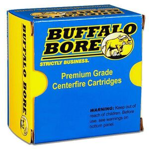 Buffalo Bore .38 SPL +P 158 Grain Hard Cast 20 Round Box