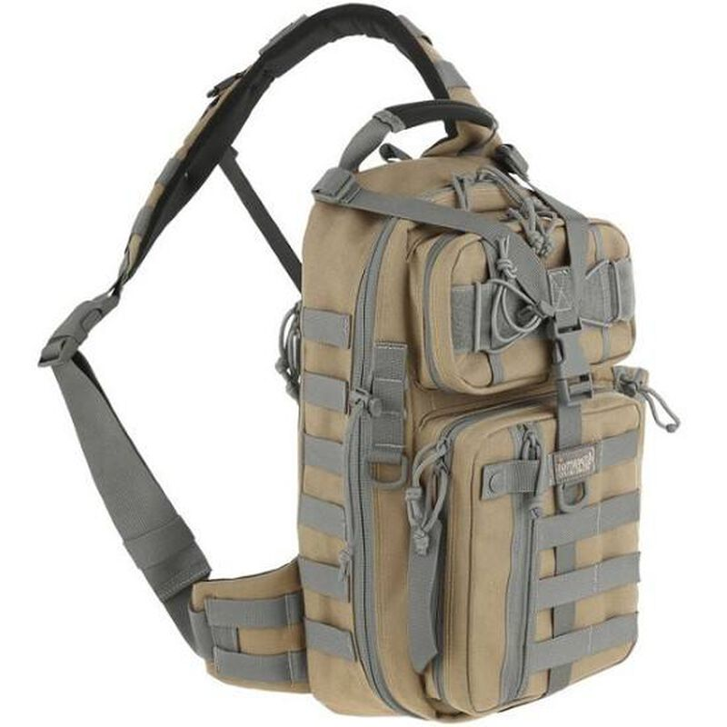 Maxpedition Hard Use Gear Sitka Gearslinger 618 Cubic Inches Khaki Foliage
