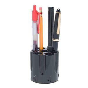 GG&G Magnum Cylinder Pen/Pencil Holder Desk Accessory Black GGG-1596