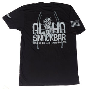 Spike's Tactical Aloha Snackbar Men's Short Sleeve T-Shirt 2XL Black