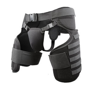 Damascus Protective Gear Imperial Thigh/Groin Protector with MOLLE System Black TG40
