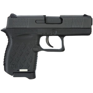 "Diamondback DB9 Gen 4 9mm Semi Auto Pistol 3"" Barrel 6 Rounds Matte Black Slide Polymer Frame Matte Black"