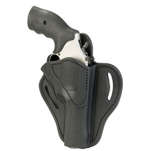 1791 Gunleather RVH-2 OWB Belt Holster for K/L Frame Revolvers Right Hand Draw Leather Black