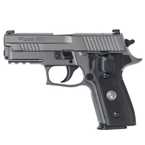 "SIG Sauer P229 Legion Compact Semi Auto Pistol 9mm Luger 3.9"" Barrel 15 Round X-Ray Sights G10 Grips SIG Rail PVD Finish"