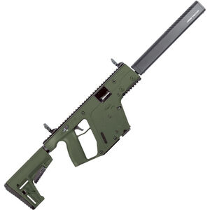 "Kriss USA Kriss Vector Gen II CRB 9mm Luger Semi Auto Rifle 16"" Barrel 17 Rounds Kriss M4 Stock Adapter/Defiance M4 Stock OD Green Finish"