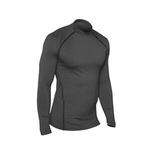 Champion Tactical Tac191 Double Dry Men's Compression Long Sleeve Mock Tee Medium Black