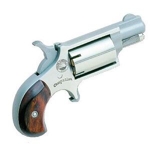 North American Arms Companion Cap and Ball Revolver .22 Caliber 5 Shot Silver