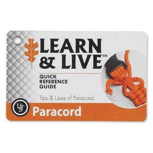 Ultimate Survival Technologies Learn & Live Paracord Card Set 20-80-1060