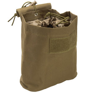 "NcSTAR Folding Dump Pouch 7.5""x8.5""x3.5"" PVC Fabric Tan"