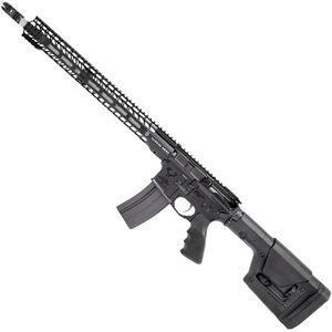 """Stag Arms STAG-15L Valkyrie Left Handed Semi Auto Rifle .224 Valkyrie 18"""" Stainless Steel Heavy Barrel 25 Rounds Stag-15 M-LOK SL Freefloat Handguard Magpul Fixed Rifle Stock Black"""
