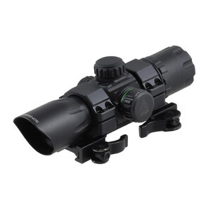 Leapers UTG ITA Red/Green Dot Sight 34mm QD Mount Matte Black SCP-DS3068W