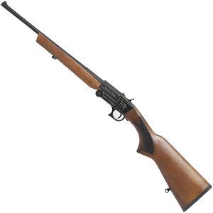 "Iver Johnson IJ700 Youth Single Shot Break Action Shotgun 20 Gauge 18.5"" Barrel 1 Round 3"" Chambers Walnut Stock Black Finish"