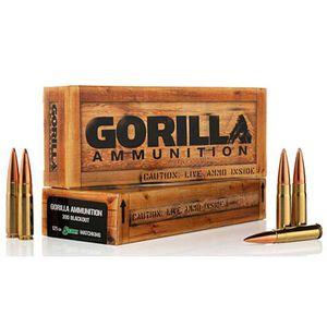 Gorilla .300 AAC Blackout 125 Grain BTHP 20 Round Box
