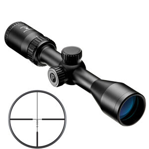 "Nikon Prostaff P3 3-9x40 Muzzleloader Scope BDC 300 Reticle 1"" Tube .25 MOA Fixed Parallax Matte Black"