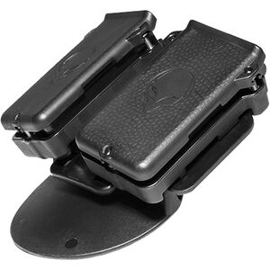 Alien Gear Cloak Double Mag Carrier IWB/OWB Single Stack .380 ACP/.32 Auto Magazines Polymer Black