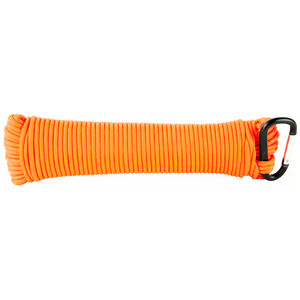 Ultimate Survival Technologies Paracord 100' 550lb Test 100% Nylon Orange Finish